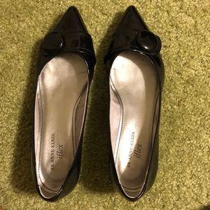 Anne Klein Shoes - Anne Klein Black Patent Leather Heels, size 7.5